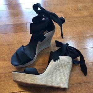 Ugg Wedge Platform Sandals - Size 8